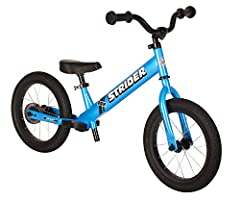 INSTANT SUCCESS - That's what we want kids to experience on the Strider 14x Sport. We've assembled all the necessary ingredients to give your tyke a taste of confidence, so your little racer can successfully shift from riding a balance bike to pedali...
