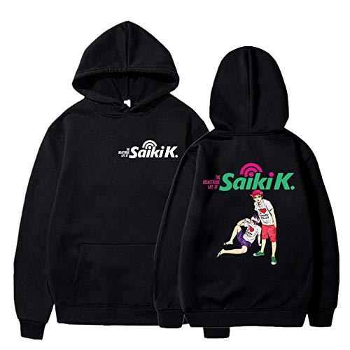 Anime Das katastrophale Leben von S-aiki K Pullover Hoodie Langarm Sweatshirt Unisex Plus Size Casual Outwear Jacke