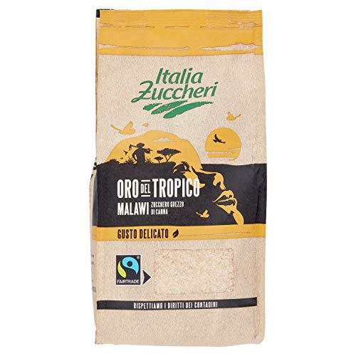 Italia Zuccheri Zucchero Di Canna Grezzo Oro Del Tropico Malawi Fairtrade, 1000g