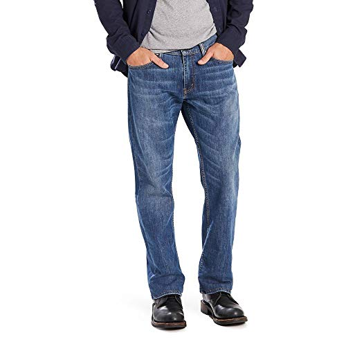 Levi's Men's Big and Tall 559 Relaxed Straight Jeans, Steely Blue, 44W x 30L