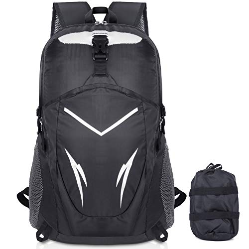 Besrina Ultra Lightweight Backpack,40L Foldable Travel Rucksack...