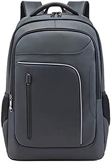 SODIAL Fashion Trend Men'S Business Backpack Junior High School Bag Leisure Travel Computer Bag Black