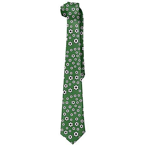 Corbatas de seda verde para hombre de la moda de los balones...