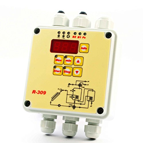 Tecso R-309 Centralina di Controllo per Pannelli Solari Termici