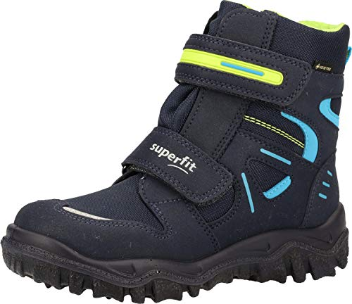 Superfit Husky, Botte de Neige, Blau/Grün 8000, 33 EU