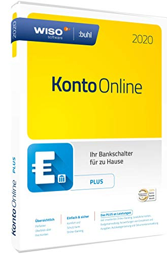 WISO Konto Online Plus 2020 (WISO Software) | Box | Plus | Disc in Standardverpackung