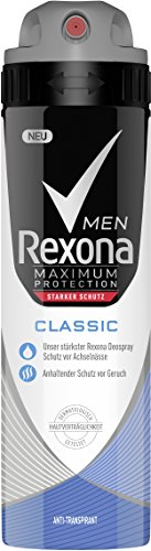 Rexona Men Deospray Maximum Protection Classic Anti-Transpirant, 3er Pack (3 x 150 ml)