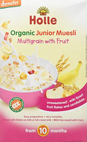 Holle Muesli Multicereales Con Fruta +10 Mese 250 g
