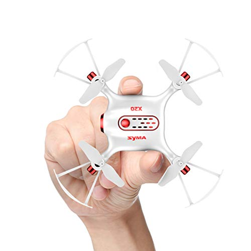Mini RC UFO Quadcopter DoDoeleph Syma X20 2.4Ghz 6 Axis Gyro Remote Control RTF Helicopter Nano Pocket Drone Headless Mode With Altitude Hold and Light One Key Take Off Landing White