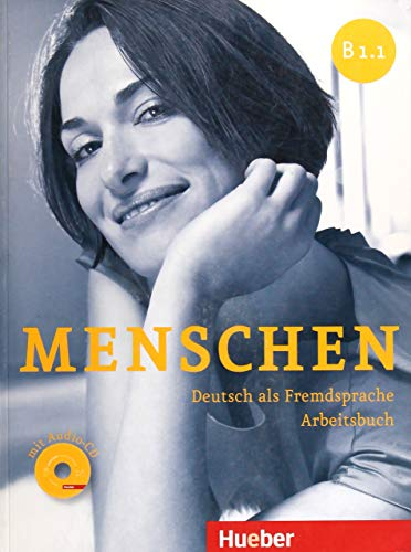 MENSCHEN B1.1 Ab+CD-Audio (ejerc.): Arbeitsbuch B1.1 mit Audio-CD: Vol. 2