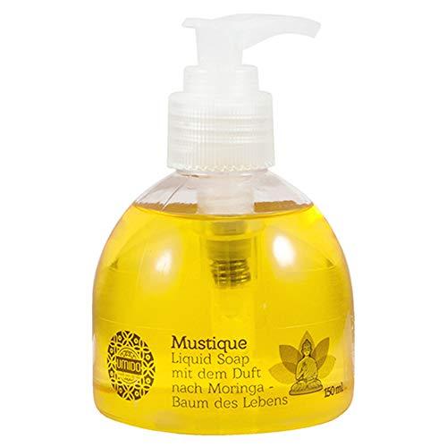20x UMIDO Flüssigseife Spender 150 ml Moringa | Handseife für Pflege & Hygiene | Händewaschen | Seife aus dem Pumpspender | Pflegeseife | Körperpflege
