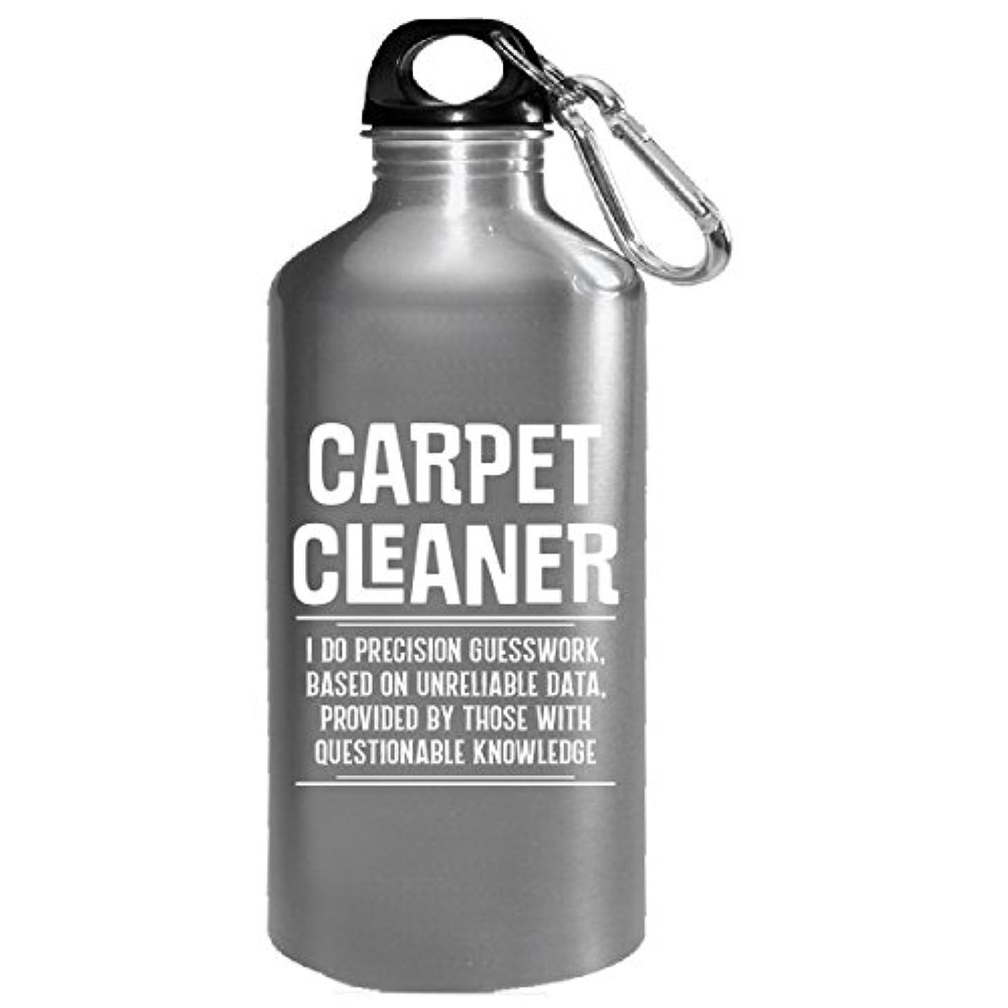 Carpet Cleaner I Do Precision Guesswork - Water Bottle