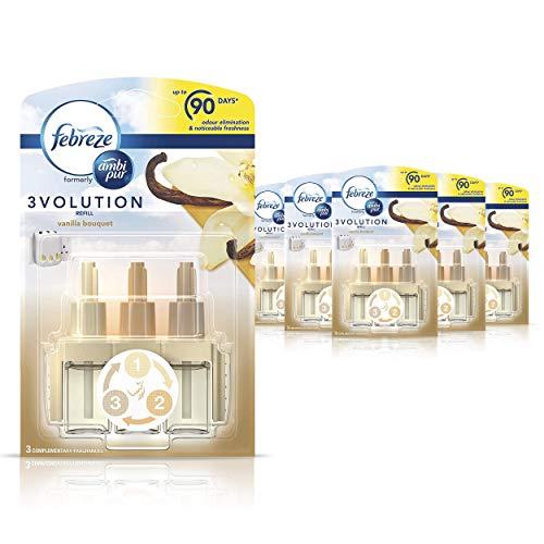 Febreze Ambi Pur 3Volution Air Freshener Plug-In Diffuser Refill, Odour...