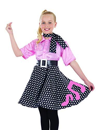 Fun Shack Rosa Rock-n-Roll-Kleid Kostüm für Mädchen - M