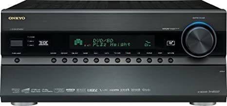 Onkyo TX-NR5007 145 Watts 9.2-Channel AV Surround Home Network Receiver (Black) (Discontinued by Manufacturer)