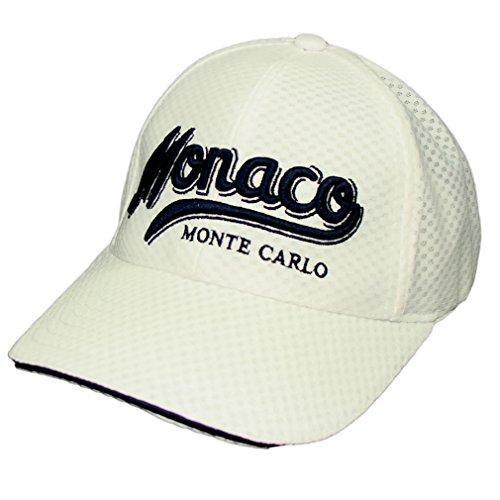 Souvenirs de France - Casquette Homme Monaco - Blanc