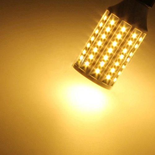 DGDH Bulbos de maíz LED, E27 15W 84 LED Lámparas de Bombilla de maíz Lámparas Ahorro de energía 220V Bombilla de iluminación Duradera (Color : Warm White)