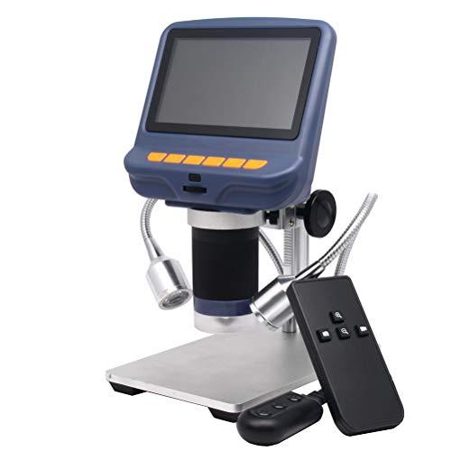 Kexia HD USB Digital-Mikroskop, 4.3 '' Screen-Mikroskop, Für Löt- / PCB/Uhr/Telefon-Reparatur-Werkzeuge, Mit Ständern Und IR-Fernbedienung
