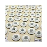 Langard - Occhielli per rubinetto, 12 mm, confezione da 60 pezzi, colore: Bianco