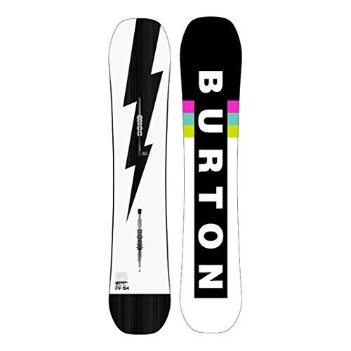 Burton Custom Flying V 2nd - Tabla de snowboard para hombre, talla 150, color blanco