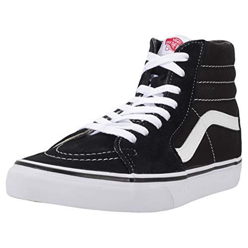 Vans SK8-Hi¿ Core Classics, Black (Black/Black/White), 7.5 Women / 6 Men M US