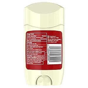 Old Spice Antiperspirant & Deodorant for Men, Volcano 3-Pack, 2.6 Oz, Amber