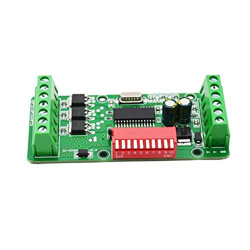 ZSooner DMX512-Decoder, 3/4-Kanal-DMX-Controller, LED-Decoder-Werbemodul