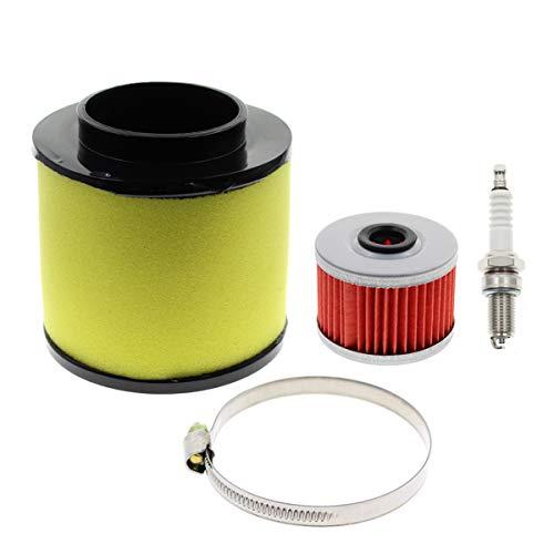 AUTOKAY Air Filter Tune Up Kit Fits for Honda Recon 250 TRX250EX TRX250X Sportrax 17254-HM8-000
