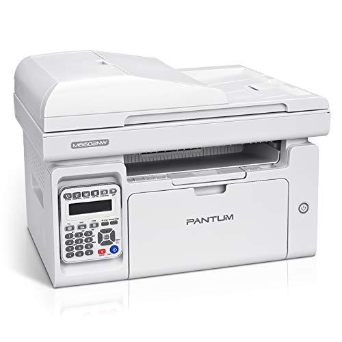 All in One Laser Printer Monochrome Printer Scanner Copier Fax with...