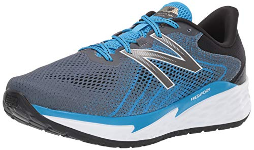 New Balance Fresh Foam Evare, Zapatillas para Correr de Carretera Hombre, Gris (Blue/Grey), 42 EU