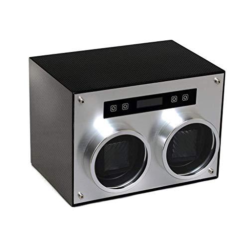 FFAN Enrollador de Reloj automático, Caja Doble, Modo de 4 rotaciones, Motor silencioso con Estuche de Almacenamiento Good Life