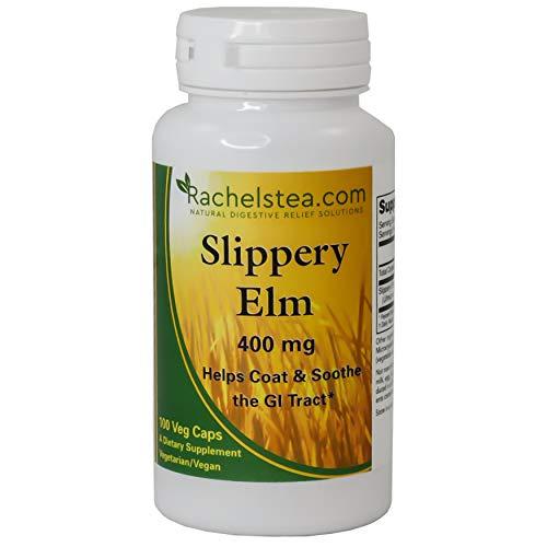 Slippery Elm Bark, 400 mg, 100 Capsules
