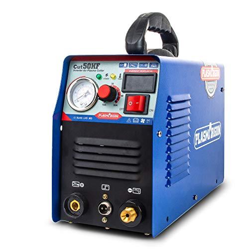 Cortador de plasma 50A HF corte de la máquina 12mm limpio corte 220V con consumibles