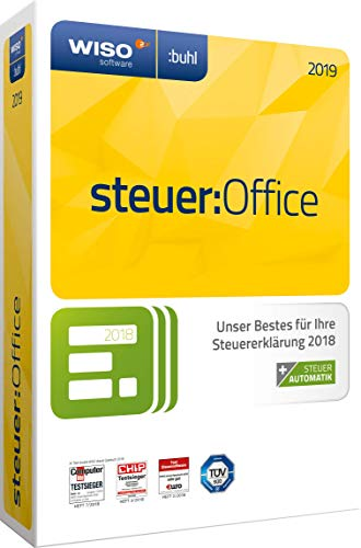 WISO steuer:Office 2019 (für Steuerjahr 2018) (WISO Steuer-Software)