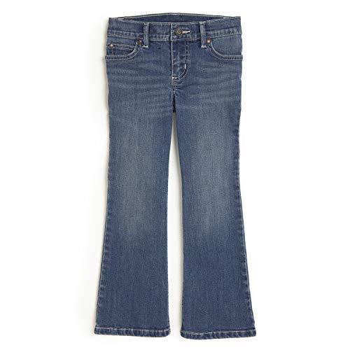 Wrangler Girls' Retro Stretch Boot Cut Jean, Cathleen, 4 Slim