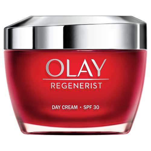 Olay Regenerist Crema Facial De Día Con Spf 30, Fórmula Con Vitamina B3 Y Niacinamida, Hidratación 24h, 50 Mililitro