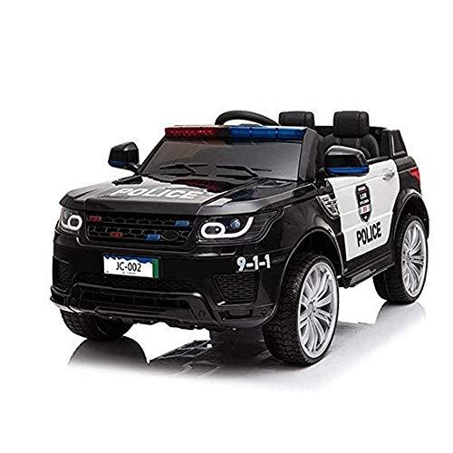Angelay-Tian Los niños eléctricos viajan en el Juguete con batería de 12V de 12V, diseño Integrado de Control Remoto y conducción automática con música Ligera LED Adecuada para niños de 0 a 5 años de