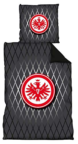 Eintracht Frankfurt Bettwäsche Geripptes (Decke: 135 cm x 200 cm)