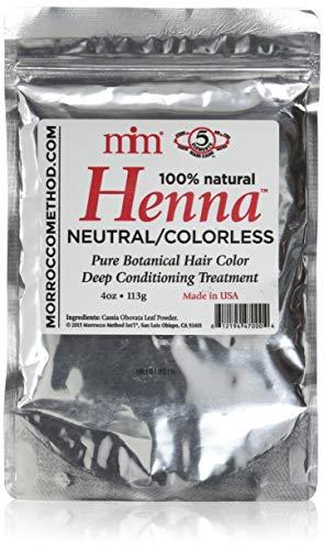 Morrocco Method Neutral/Colorless Henna Hair Dye