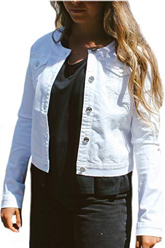 Giacca di Jeans Bianco Liu Jo (12 Anni)