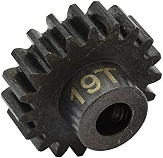 Hot Racing NSG19M1 19t Steel Mod 1 Pinion Gear 5mm