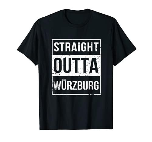 Vintage Lustig Straight Outta Würzburg...