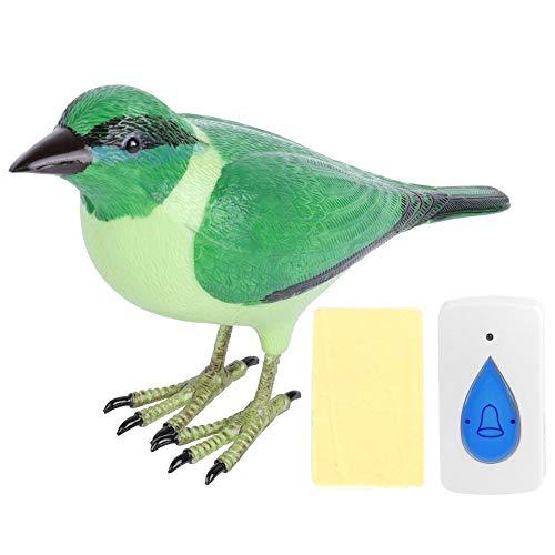 Cafopgrill Draadloze Afstandsbediening Leuke Vogelvormige Deurbel Ring Welkom Ring Chime