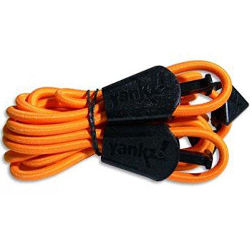 YANKZ Cordones Elástico cordones - Naranja Neón, talla única