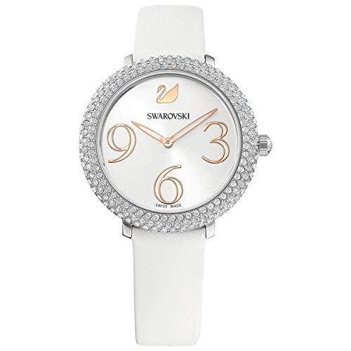 Swarovski Damen-Uhren Analog Quarz One Size Leder 87742997
