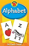 Carson Dellosa - Alphabet Flash Cards - 54 Cards for Toddler Early Learning, Uppercase and Lowercase Letters, ABCs with Bonus Game Card, Ages 4+, Packaging May Vary