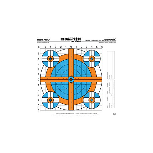 Champion Traps and Targets Re-Sticks 100 Yard Rifle Sight In Target (16 x 16)