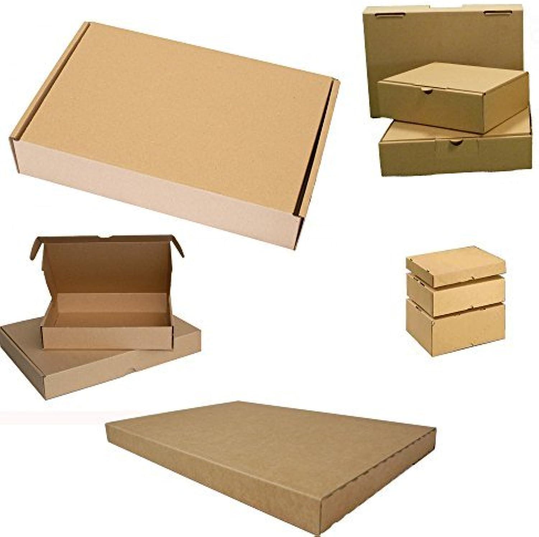 500x Maxibrief Karton Post Warensendung Päckchen Versand Versandkartons Versandkartons Versandkartons Faltkarton Postkarton 180 x 130 x 45 mm B01E1UGL5C    | New Listing  4a1054