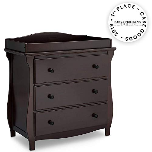 Check Out This Delta Children Lancaster 3 Drawer Dresser with Changing Top