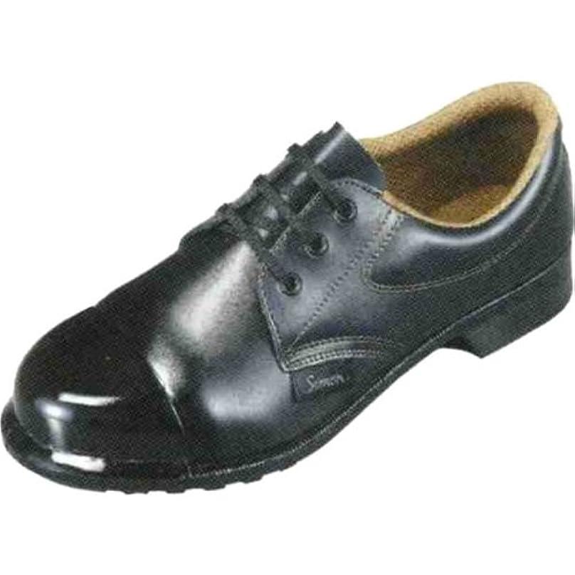 はっきりしない倍率ベーコン[武蔵野ユニフォーム] 安全靴 シモン外鋼板 FD11OS 黒 【2110250】